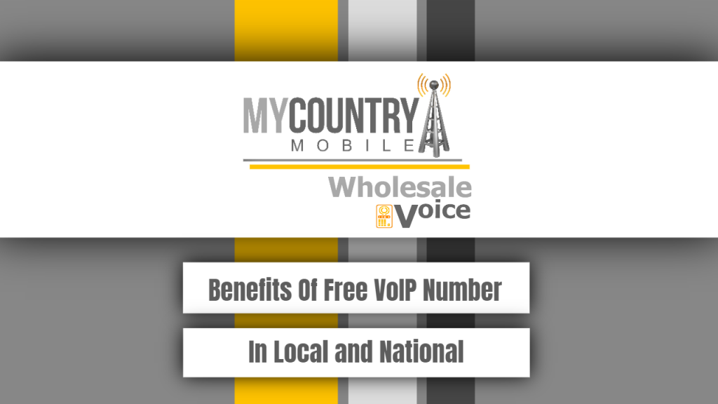 Benefits Of Free VoIP Number In Local and National - My Country Mobile