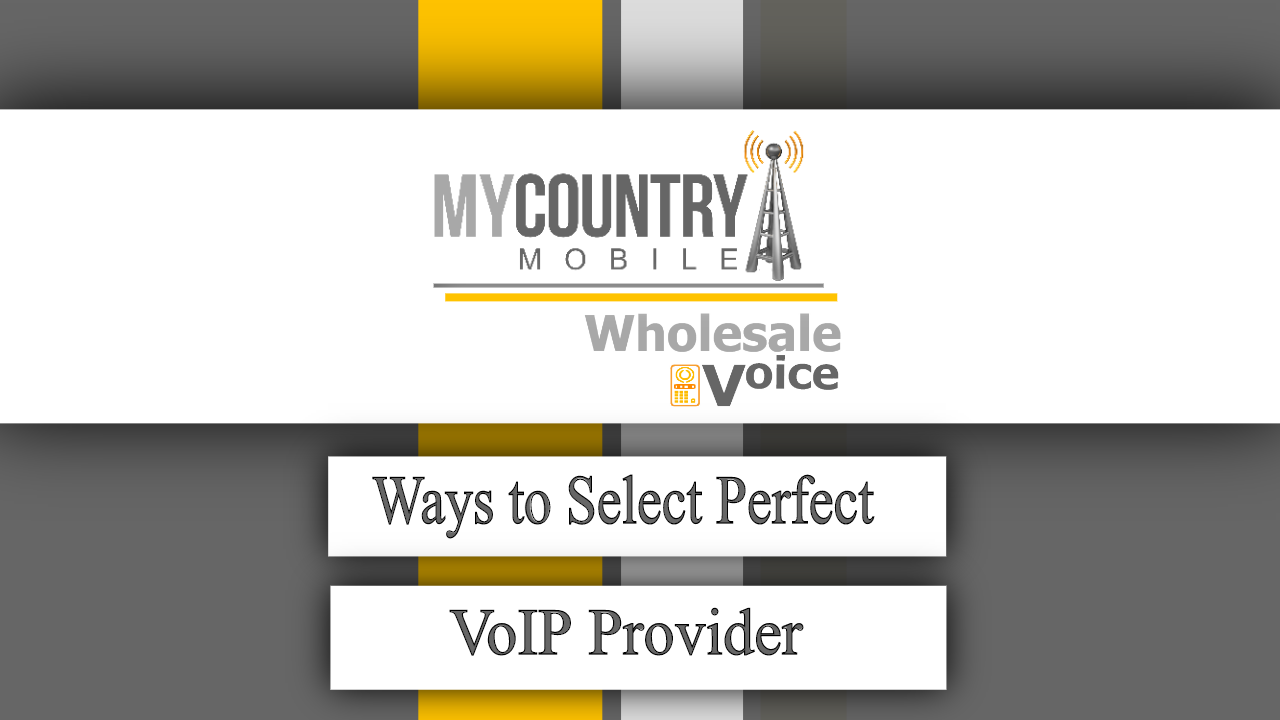 Ways to Select Perfect VoIP Provider - My Country Mobile
