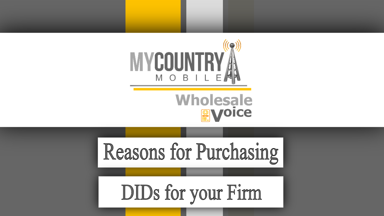 Reasons for Purchasing DIDs for your Firm - My Country Mobile